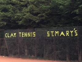 Clay Tennis - St Mary's