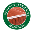 St Mary's Tennis club Isleworth logo